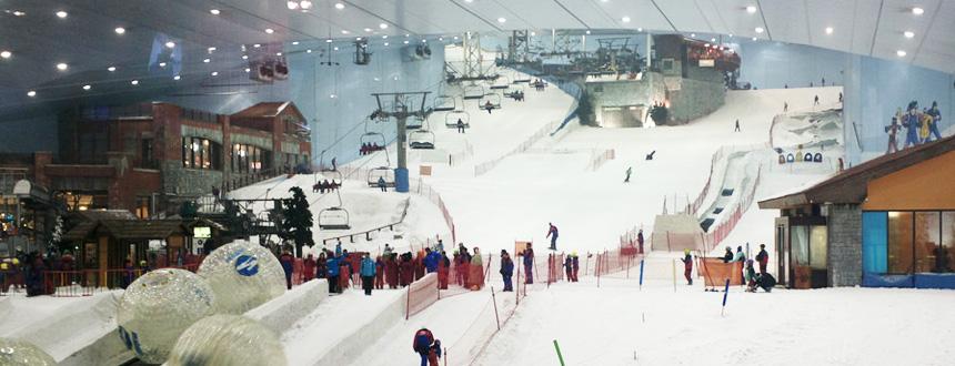 Dubai Ski Resort Indoor Ski area