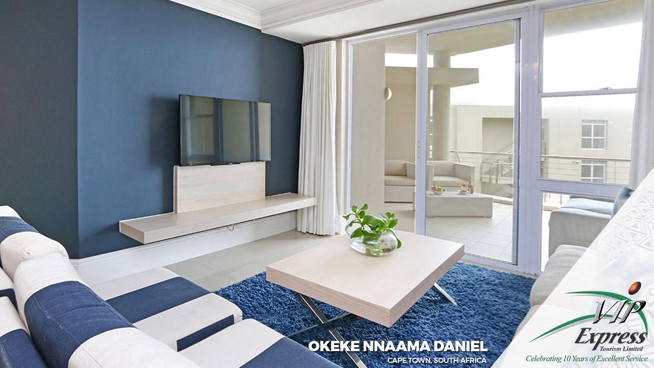 The Okeke Nnaama Daniel Family, Cape Town, South Africa.