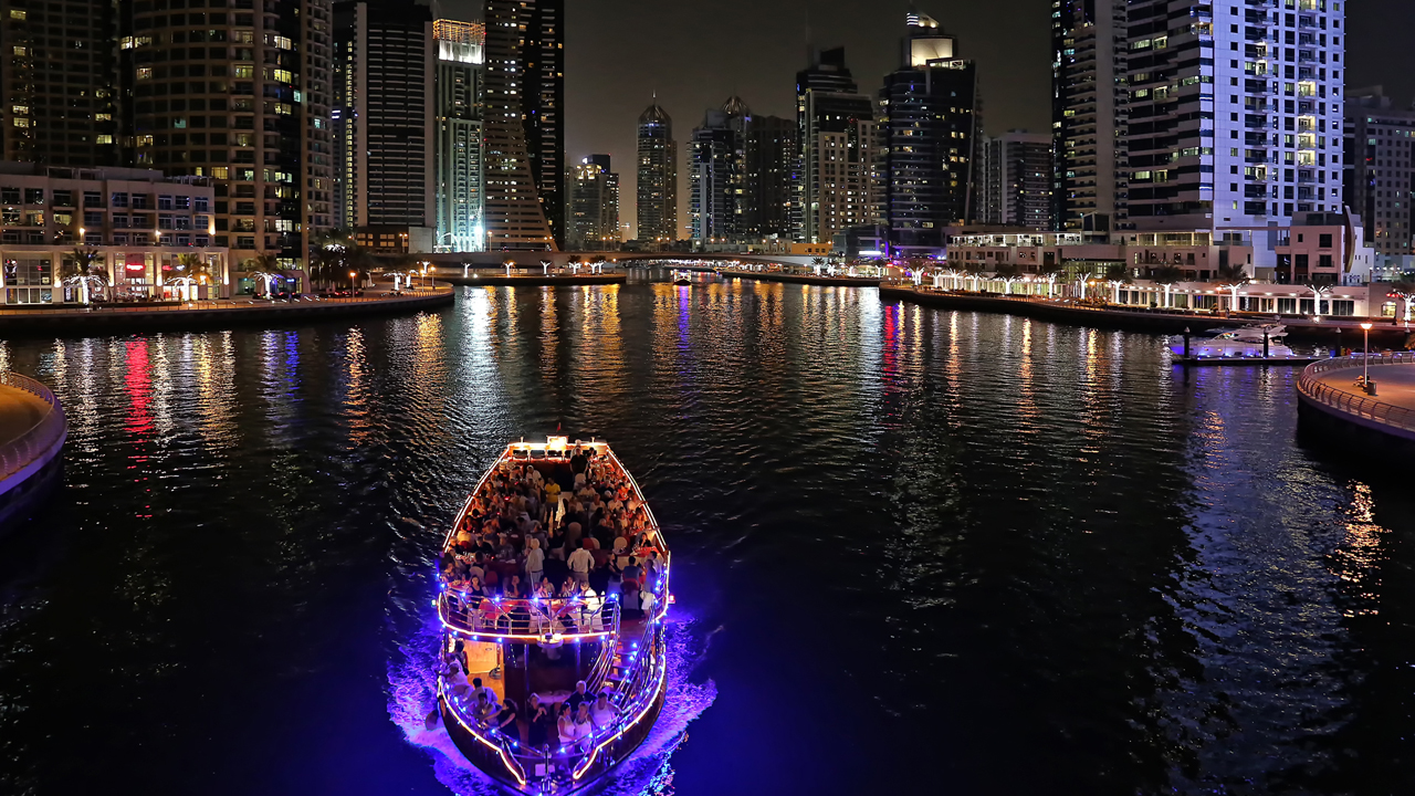 The Dubai Water Canal