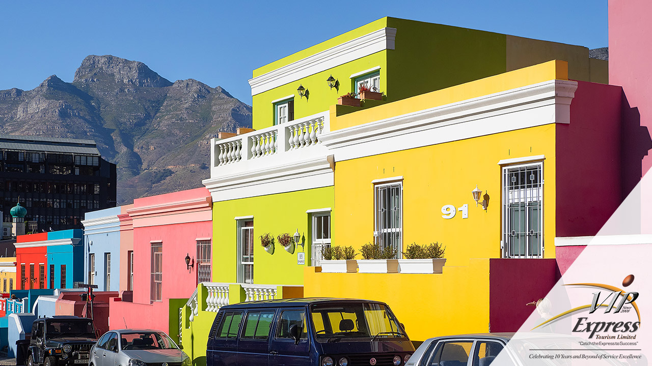 Bo Kaap, Western Cape, South Africa.
