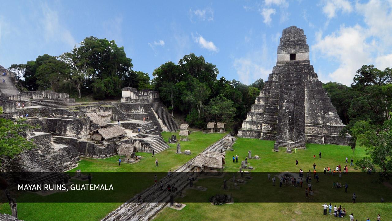 Mayan Ruins, Guatemala