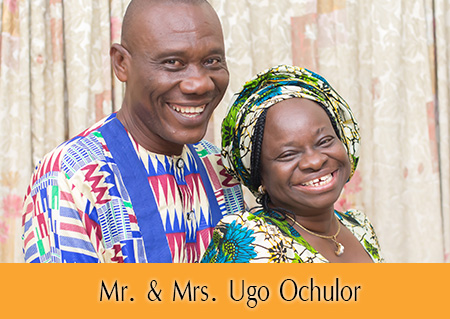 Mr. & Mrs. Ugo Ochulor - Ford Ecosport Winners